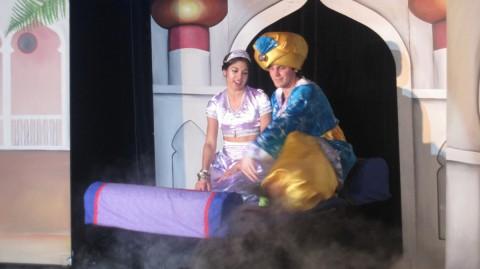 The Alpha Show of Aladdin