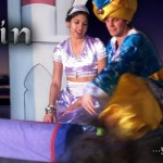 Jasmine and Aladdin on the Magic Carpet