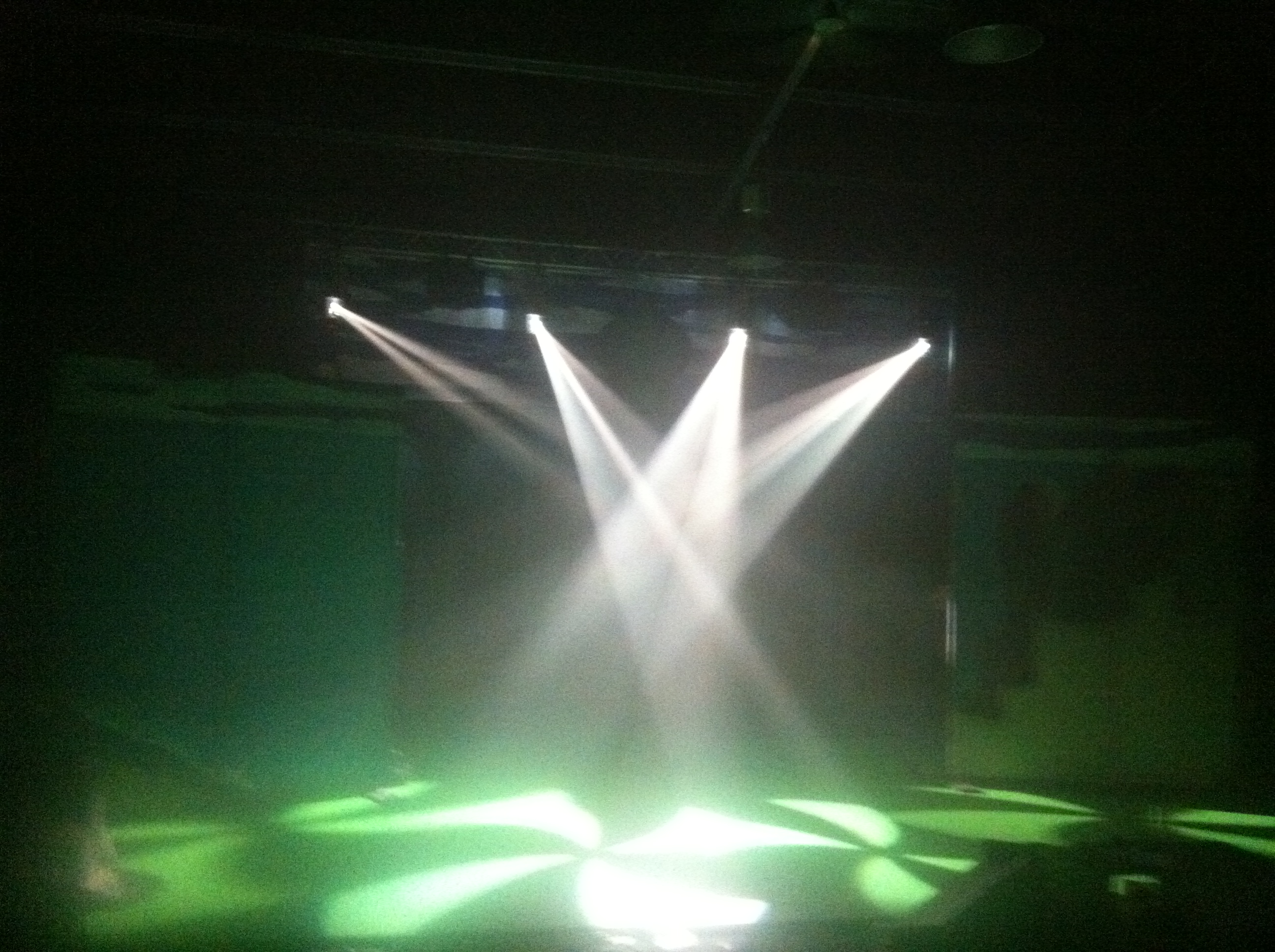 Our new Lights and Sound rig!!