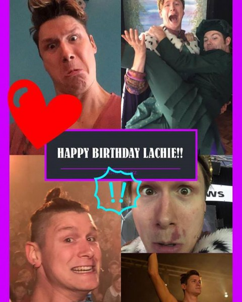 Happy birthday to our resident silly man, Lachie! @lachlanjm…