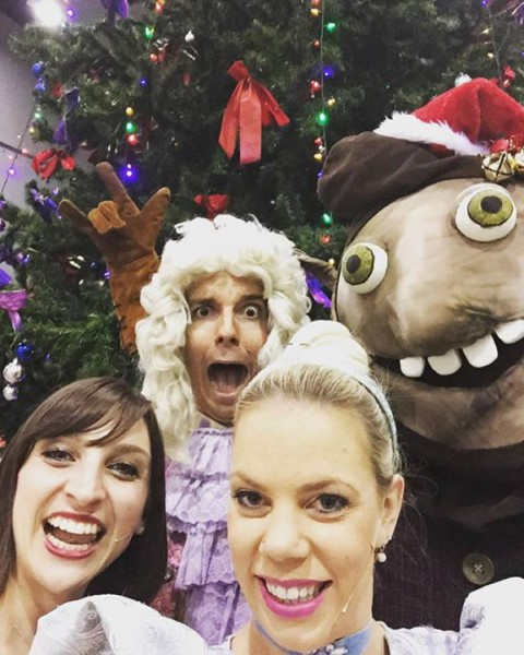 We had such a wonderful time performing Cinderella's Christmas Party at @variety…