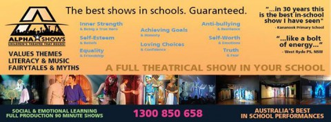 The best shows in schools. Guaranteed.  Book now by emailing…