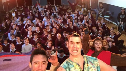 We've got the MAGIC!! Selfie with St Catherine's Primary, Mo…