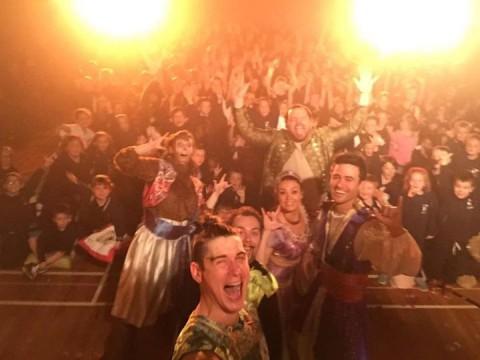 We've got the MAGIC!! Selfie with Killara Primary, Sunbury V…