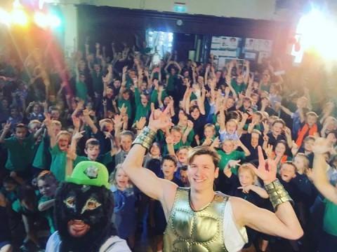 ️ HERO SELFIE ️ Albert Park Primary School, VIC   #hercules  #weasel  #selfie  #…